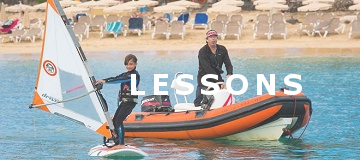 Windsurfing lessons in Lanzarote